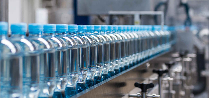 Water bottles production line
