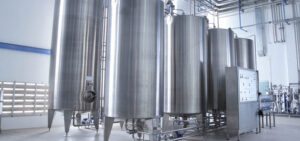 Water treatment in food industry